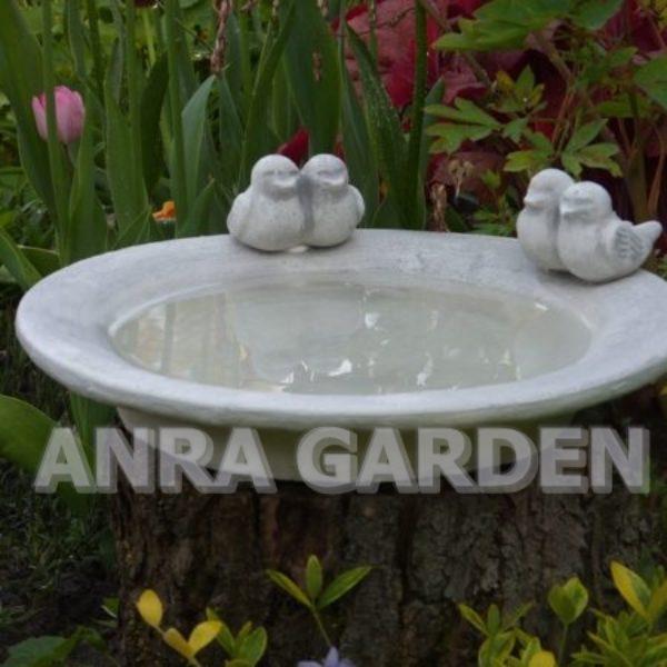 poidełko do ogrodu dla ptaków