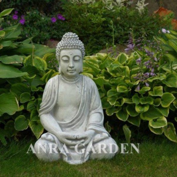 Figura buddy w medytacji do ogrodu